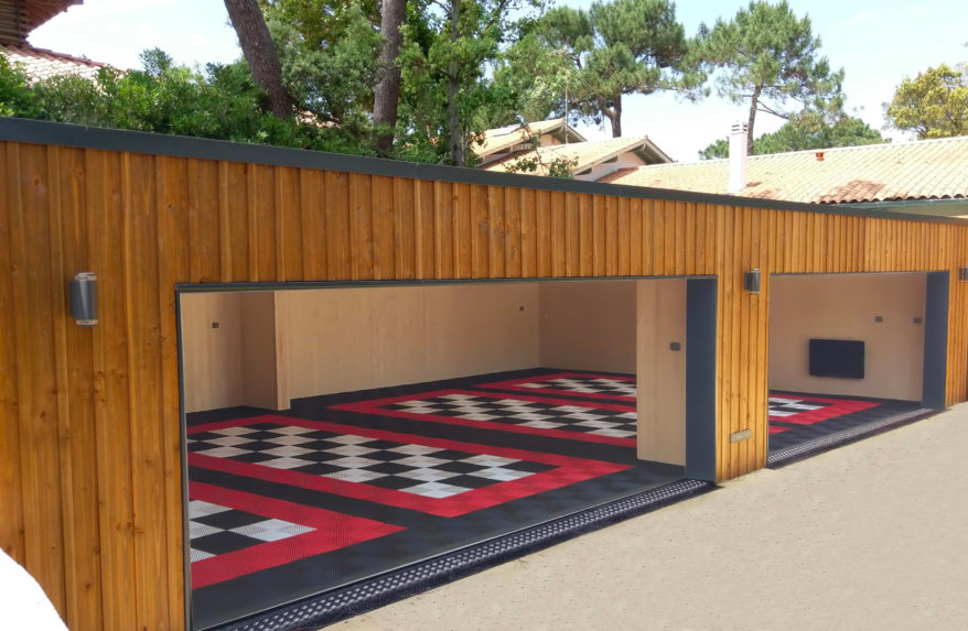 <h6>INNO'KUB Garage / Version personnalisable / 4 places </h6>