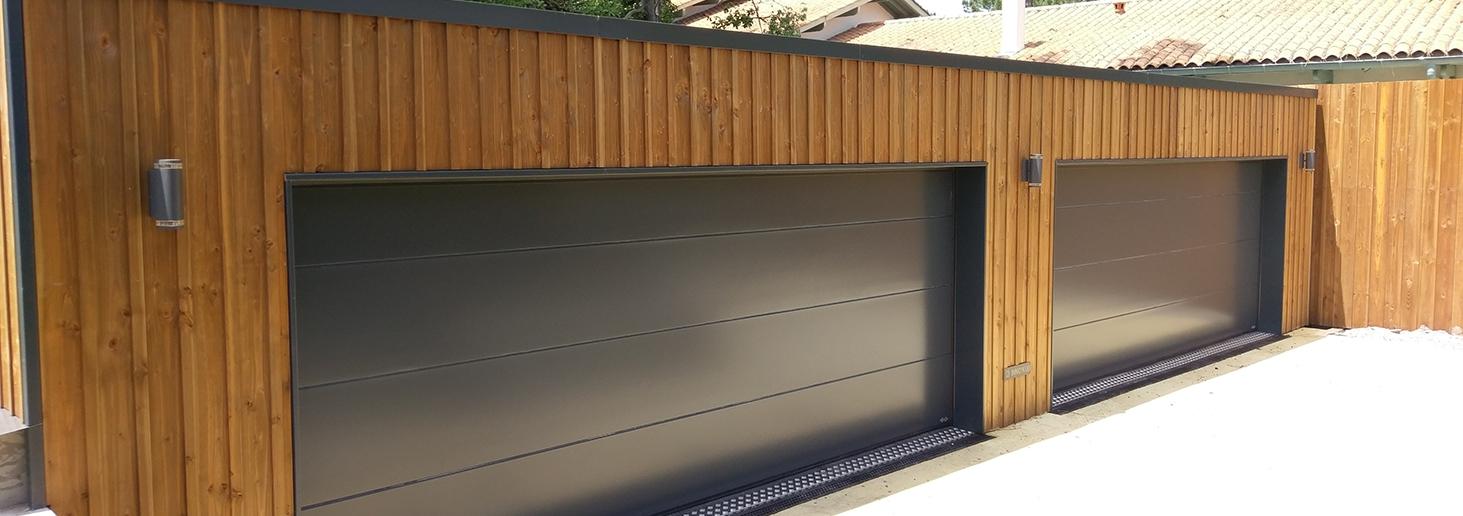 garage bois sur mesure l gant et de qualit et fonctionnel. Black Bedroom Furniture Sets. Home Design Ideas